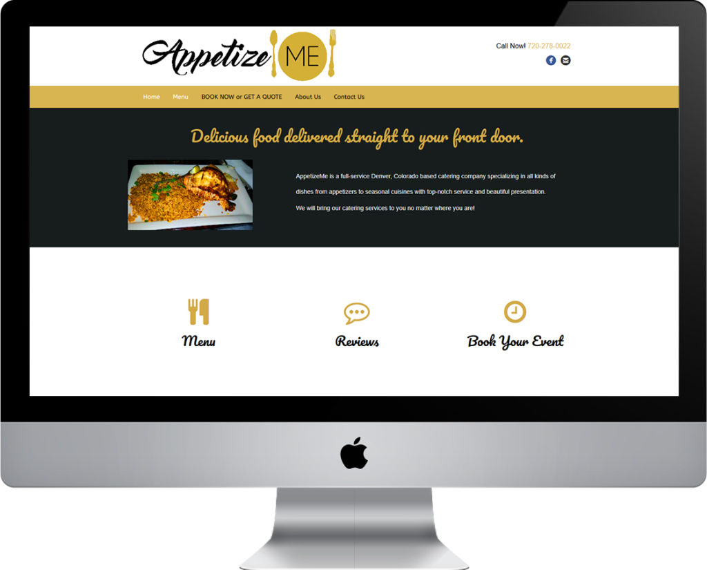 AppetizeMe website