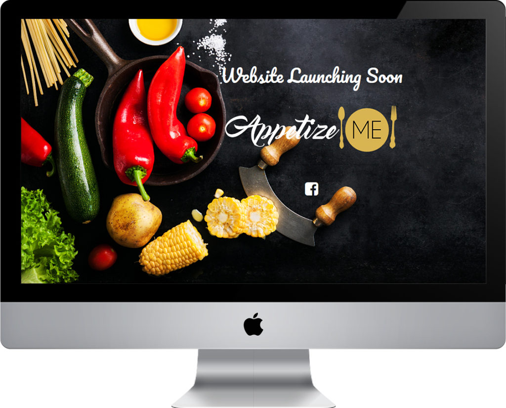 AppetizeMe coming soon website
