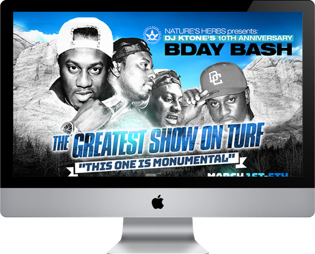DJ KTONES 10TH ANNIVERSARY BIRTHDAY BASH I DENVER, COLORADO website