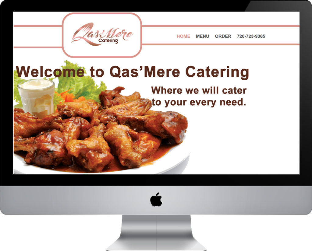 QasMere Catering website