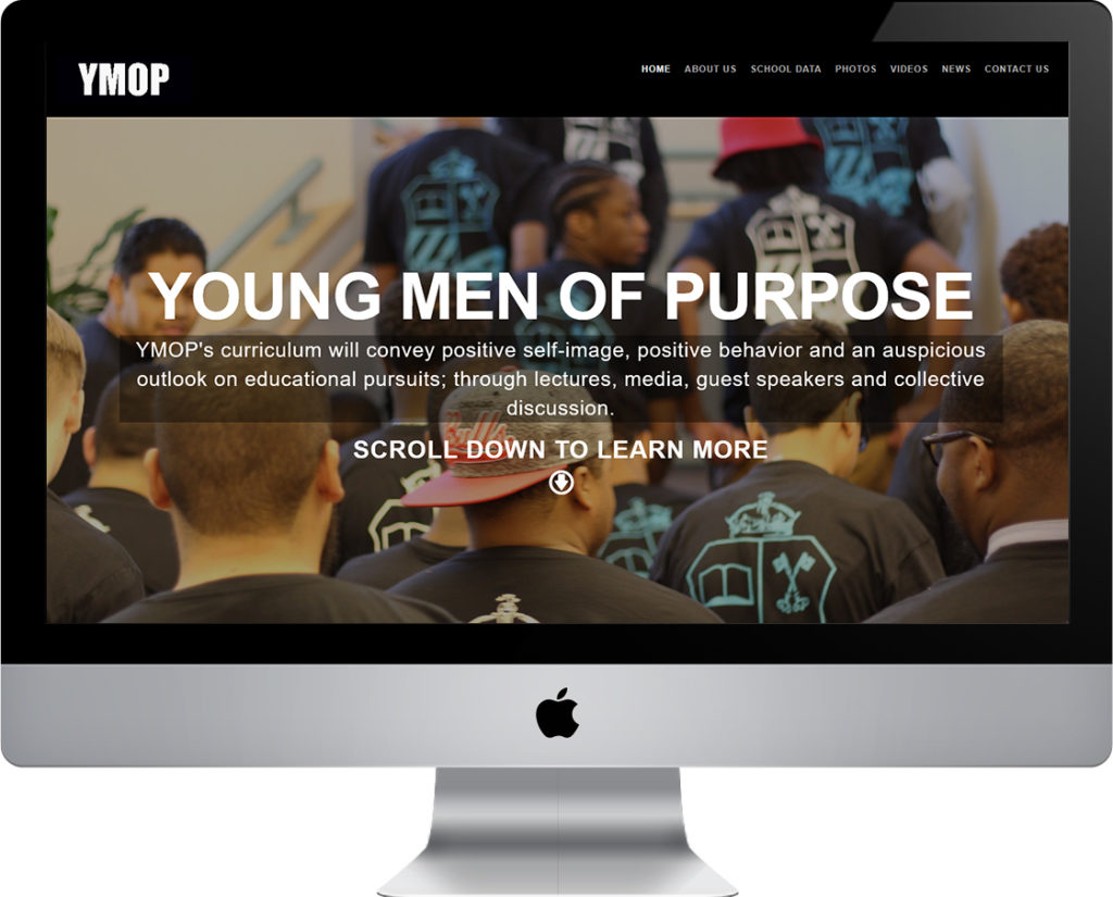 Young Men of Purpose website