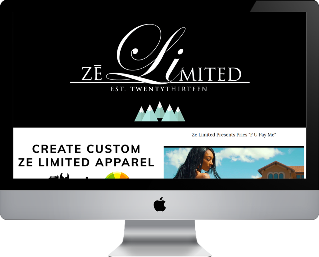 Ze limited website