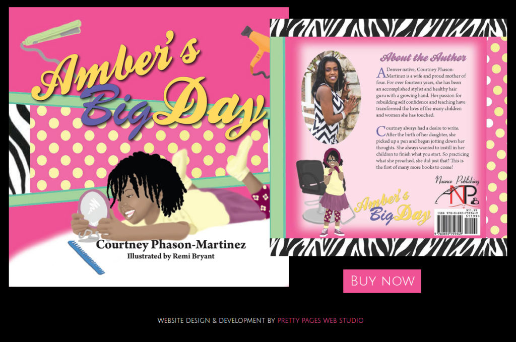 Ambers Big Day by Author _ Hair Stylist Courtney Phason-Martinez - FACEBOOK