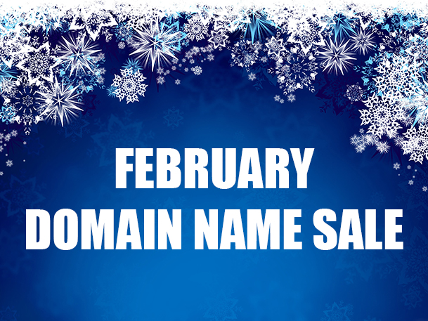 February Domain Name Sale